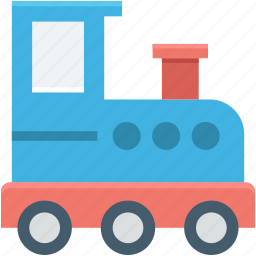 kids play, kids train, locomotive, toy train, train icon