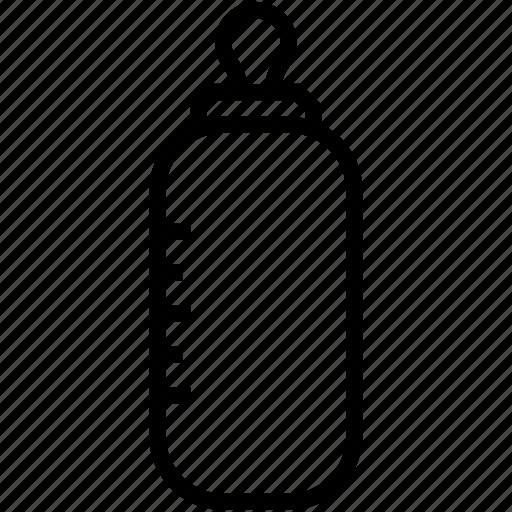 baby bottle, baby feeder, baby food, feeding bottle, toddler bottle icon