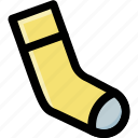 footwear, hosiery, sock, stocking, winter wear icon