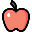 apple, diet, food, fruit, nutrition icon