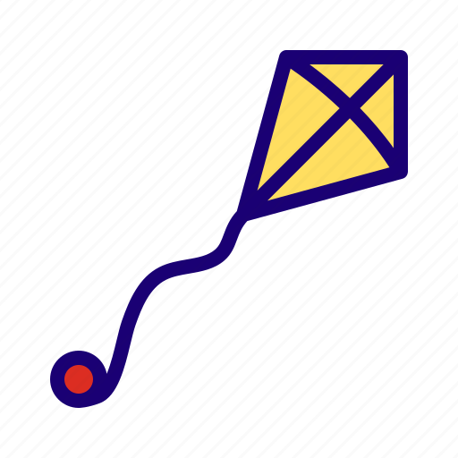 Kite, fly, festival icon - Download on Iconfinder