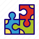 puzzle, game, toy, solving, problem, teamwork