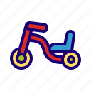 tricycle, bicycle, kids, children, balance, bike, cycle