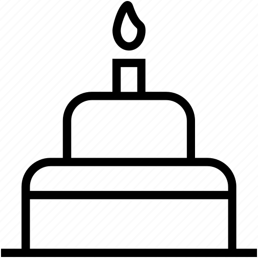 anniversary, birthday, birthday cake, cake, candles icon