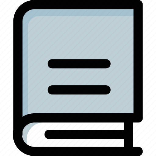 book, education, learning, publication, stationery icon
