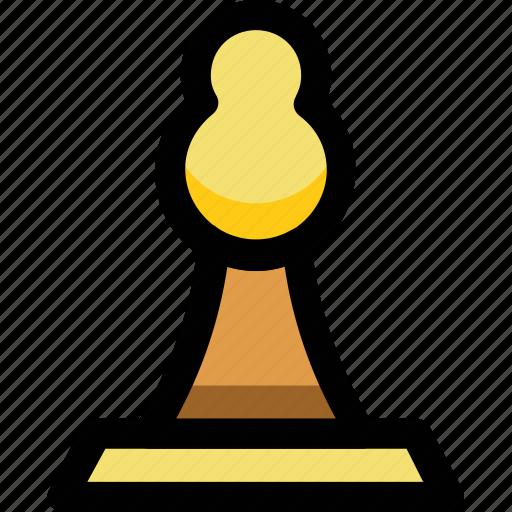 chess, pawn, toy icon