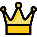 headgear, crown, gold crown, nobility, royal crown