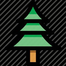 christmas tree, cypress, evergreen tree, fir tree, tree icon