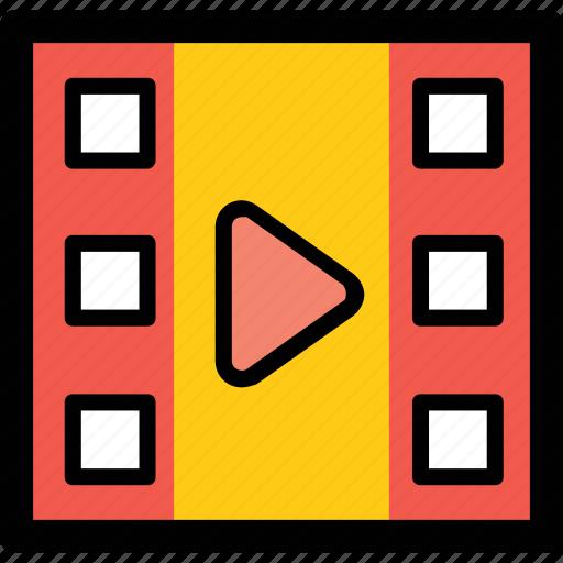 media, media player, multimedia, online video, video streaming icon
