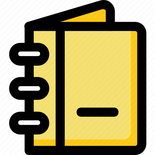 daybook, diary, journal, notebook, notepad icon