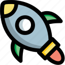fantasy, kids toy, playtime, toy, toy rocket icon