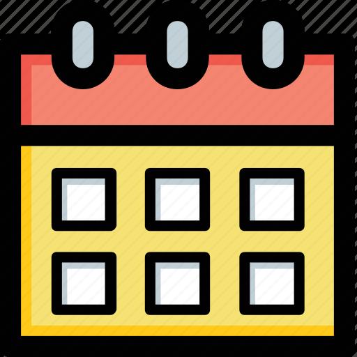 calendar, date, day, schedule, timeframe icon