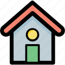cottage, home, house, hut, residence icon
