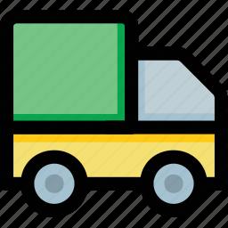 automobile, delivery van, transport, van, vehicle icon