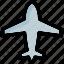 aeroplane, air jet, aircraft, airplane, plane