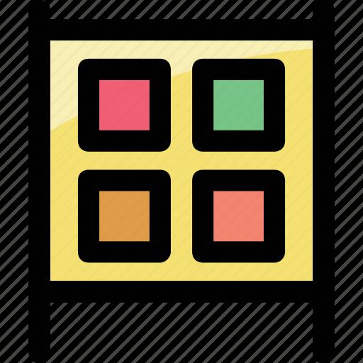 blocks, board, joys icon