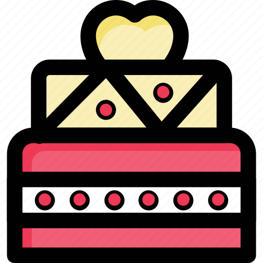 bakery food, cake, dessert, food, party icon