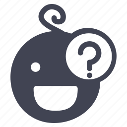 baby, child, help, information, question, support icon