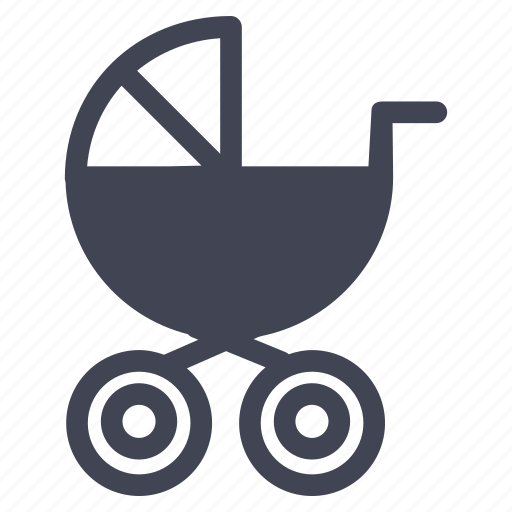 baby, carriage, infant, newborn, stroller icon