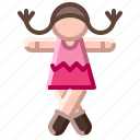 baby, child, doll, girl, toy icon