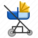 baby, buggy, carriage, pushchair, stroller icon