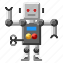 cyborg, futuristic, robot, robotic, technology icon