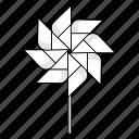 eight, paper windmill, origami, wind, pinwheel