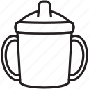 baby, bottle, child, drink, juice, water icon