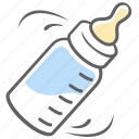 baby, baby food, bottle, food, milk icon