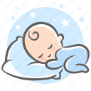 baby, dream, pillow, sleep, sleeps, sweet, sweet dream icon