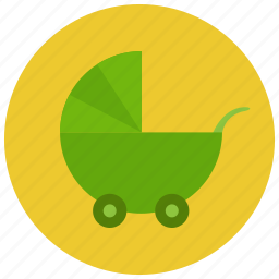 baby cart, baby stroller, pregnancy icon