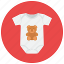 baby clothes, newborn, pregnancy, sleeper icon
