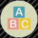 alphabet, baby, child, kid, letter, toy