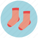 baby socks, socks icon