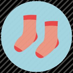 baby socks, socks icon