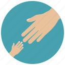 baby care, care, child, helping, pregnancy, toddler hand icon