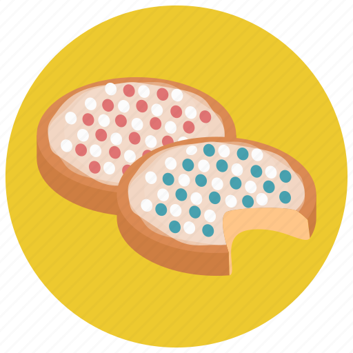cookies, food, sweets icon