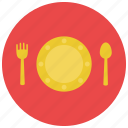 child, food, fork, kid, meal, plate, spoon
