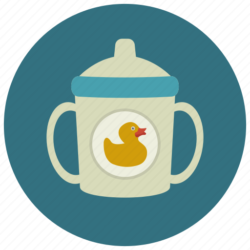 baby care, baby cup, beaker, biberon, pregnancy, sippy cup icon