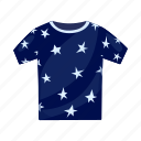 baby clothes, children's, pajamas, t-shirt icon