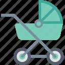 baby, carriage, child, infant, newborn, stroller, walk