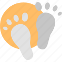 footprints, steps, walking, child, feet, infant, baby