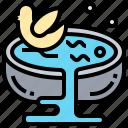 baby, bathtub, bubble, hygiene, pool icon