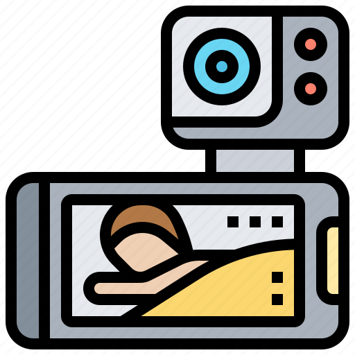 Baby, camera, monitor, nursery, security icon - Download on Iconfinder