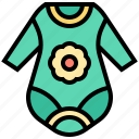 baby, clothes, infant, onesies, soft icon