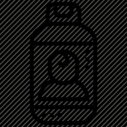Allergy, baby, bottle, powder, talcum icon - Download on Iconfinder