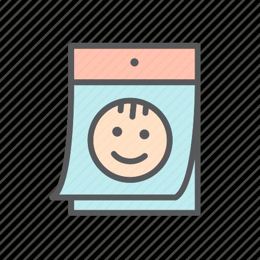 baby, bebe, calendar, child, development, milestone, month, month-by-month icon