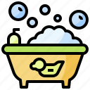 bathing, furniture, healthcare, household, hygienic, medical, shower icon