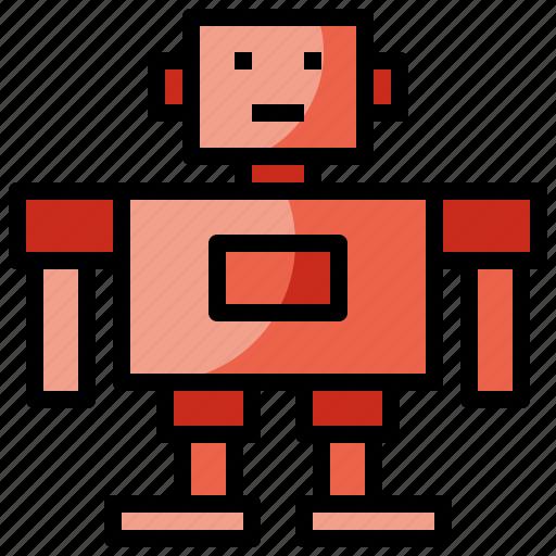 Children, electronics, metal, robot, robotic, robots, toys icon - Download on Iconfinder