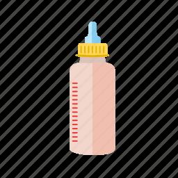 baby, bottle, child, feeder, food, milk, newborn icon